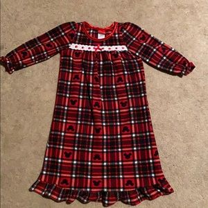 Disney Mickey Mouse flannel night gown